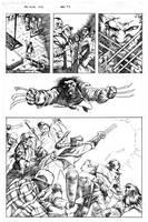 Wolverine vs the bar pg 2 by MaxAlanFuchs