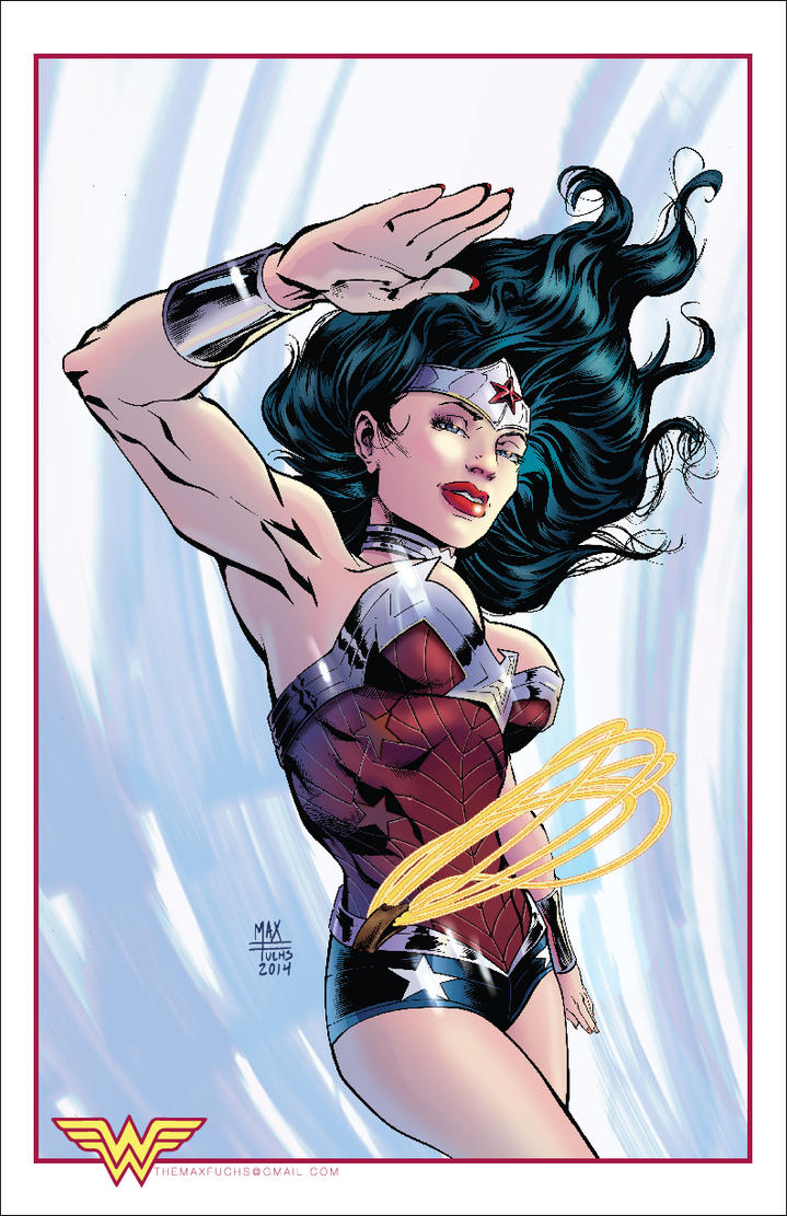 Wonder Woman by MaxAlanFuchs