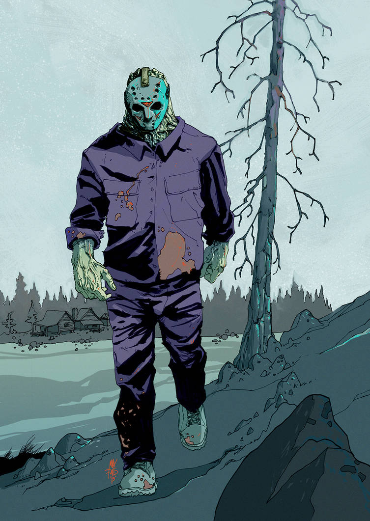 Friday The 13th NES Colors by MaxAlanFuchs