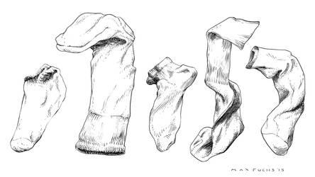 Sock Inks by MaxAlanFuchs