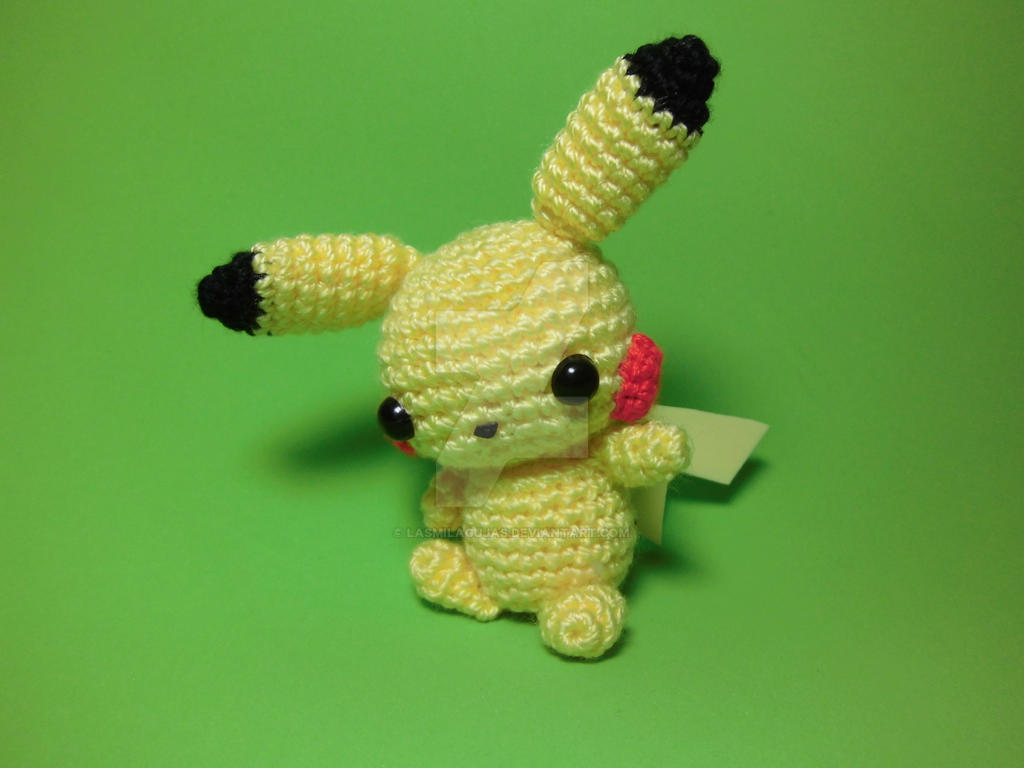 Amigurumi Pokemon Ball : Pikachu Pokemon Amigurumi Images Pokemon Images