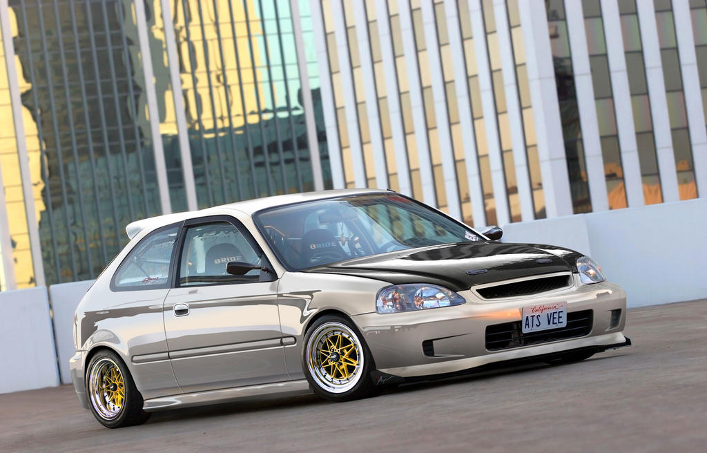 Honda Civic JDM by JensTrio on DeviantArt