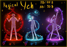 [CLOSE] YCH PACK: Magic #2 by NeroKim
