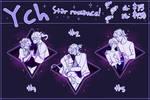 [CLOSE] YCH: Star romance!