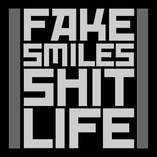 fake smiles, shit life.. by SoKaRCa