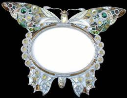 Butterfly Frame 1 by Penny-Stock