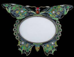Butterfly Frame 2 by Penny-Stock