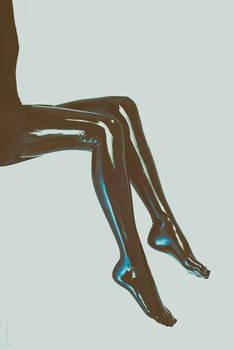 Legs in Latex