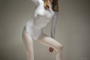 White Leotard Test S1 #4 by PascalsProxy