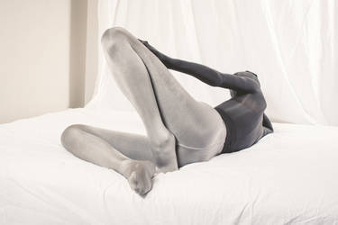 Reclining encased with an extra layer of tights by PascalsProxy