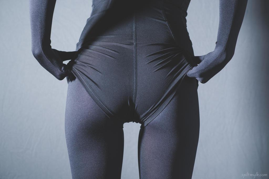 Zentai + School Swimsuit by PascalsProxy