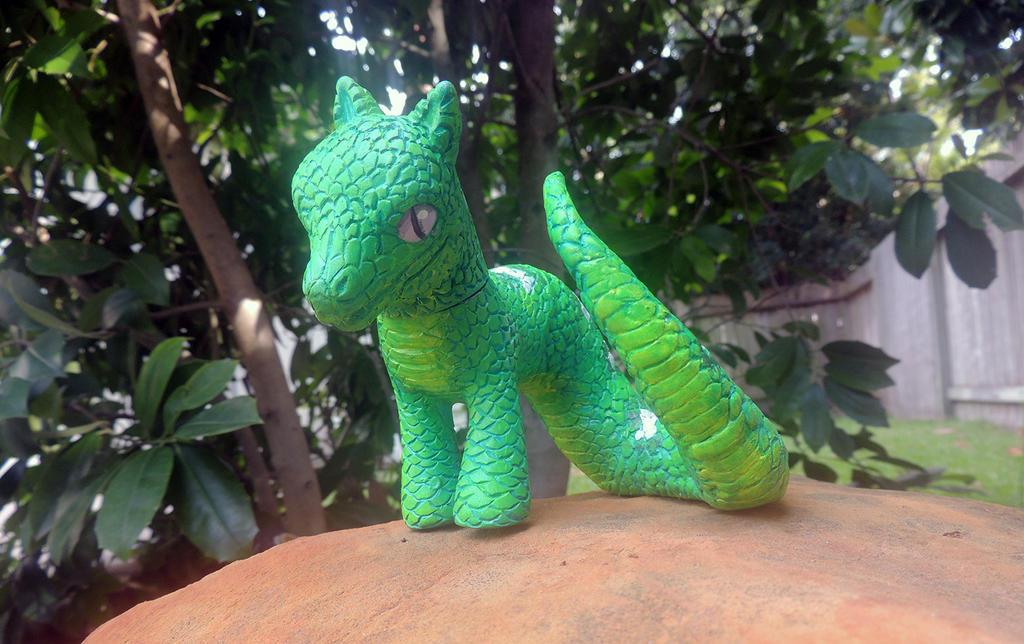 Emerald Tree Boa Naga Pony by Mad-March