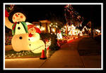 Christmas Lights by SkyeLitephotography
