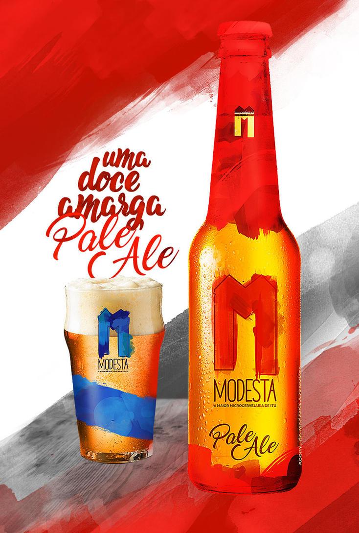 Cerveja Modesta - PALE ALE by nathangon