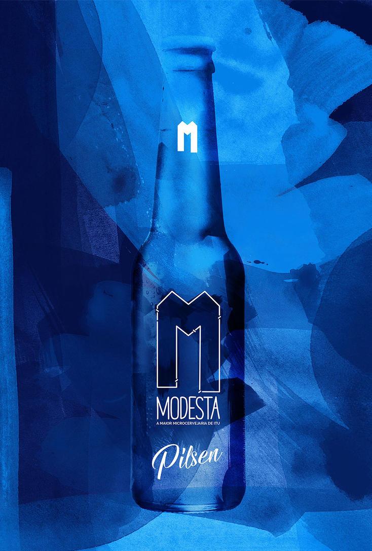 Cerveja Modesta - POSTER PILSEN #2 by nathangon