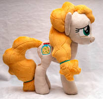 Pear Butter Pony Plushie by heytherejustine