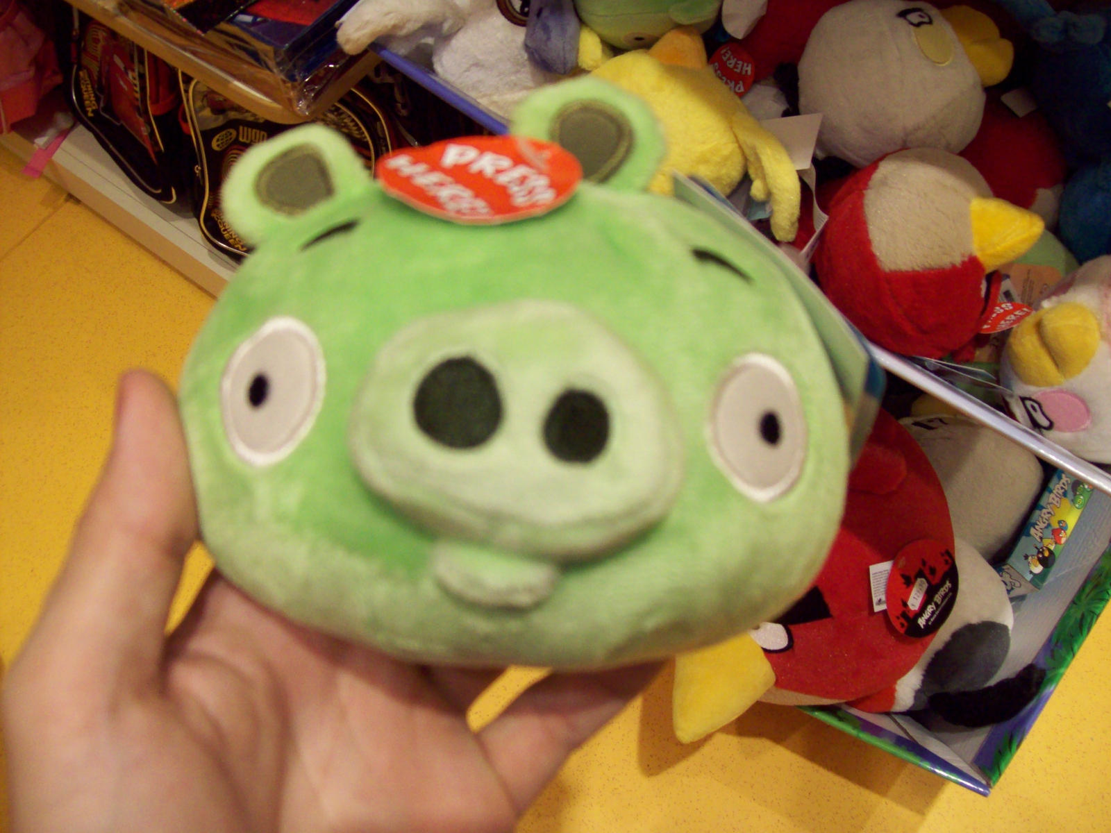 Fat Pig Angry Birds Plush Angry Birds Pigs Plush