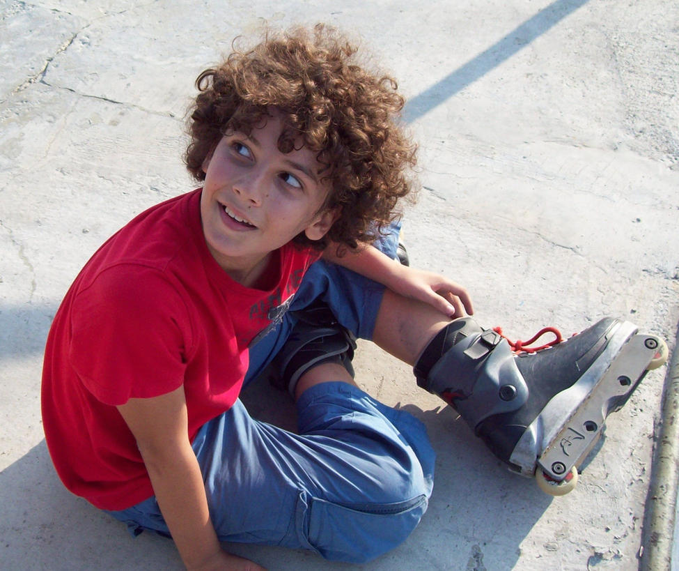 cute boy with curly hair by liviusquinky on deviantart