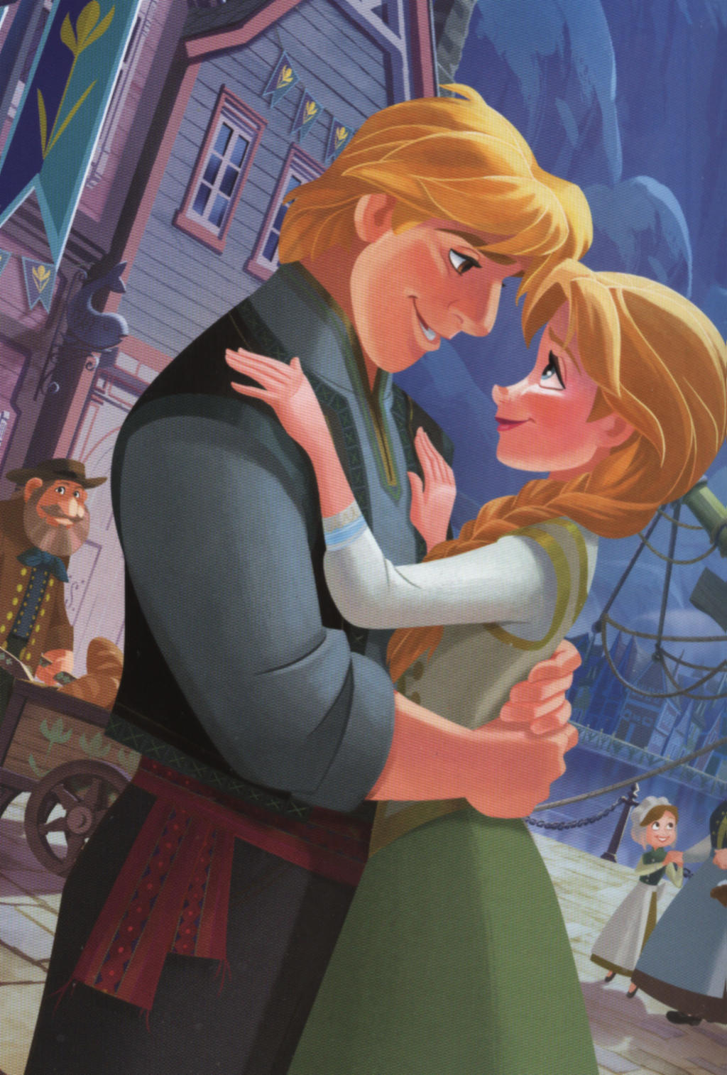 Frozen Kristoff and Anna wallpaper by LiviuSquinky on ...