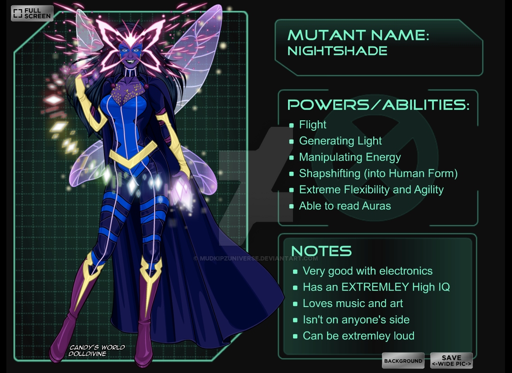 X-Men OC (mutant) by MudkipzUniverse on DeviantArt X Men Girl Creator