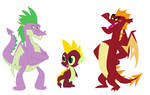 Sparble Family by MudkipzUniverse