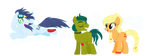 Saorinjack Family by MudkipzUniverse