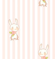 rabbit tile background by mikimanni