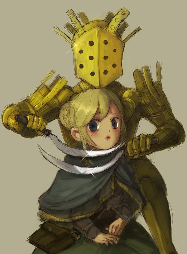 Darkmoon knightess face