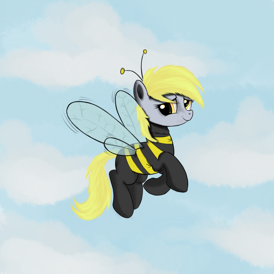 Derpy-Bee by ScootieCutie