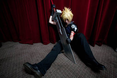 Cloud Strife- Otaku 2010 by Ginger-Jude