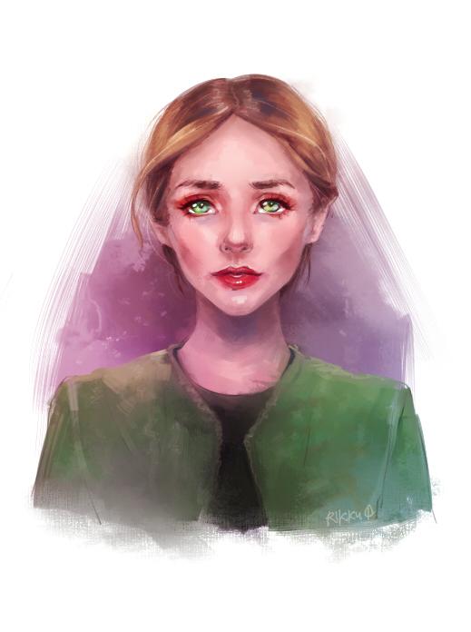 Elizabeth Olsen by RikkuTakedo