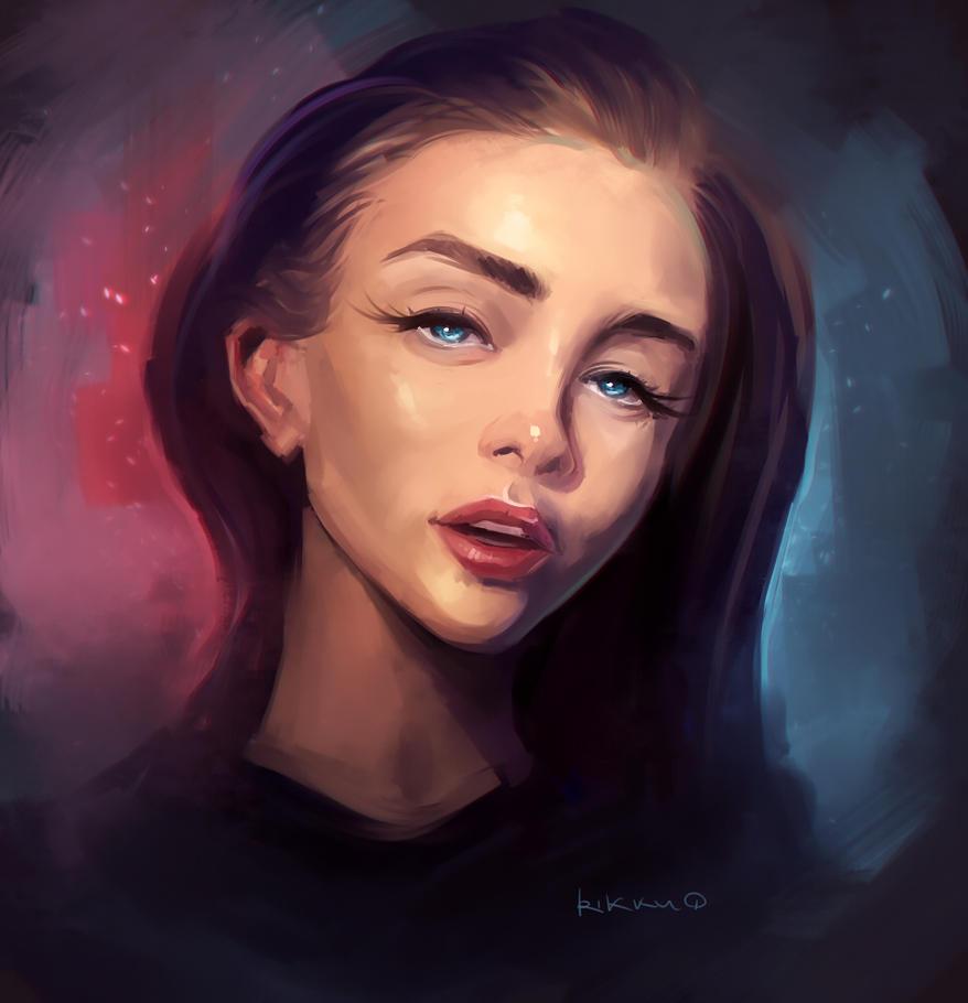 Random portrait by RikkuTakedo