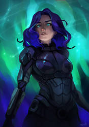 ME: Andromeda by Rikku-nyan