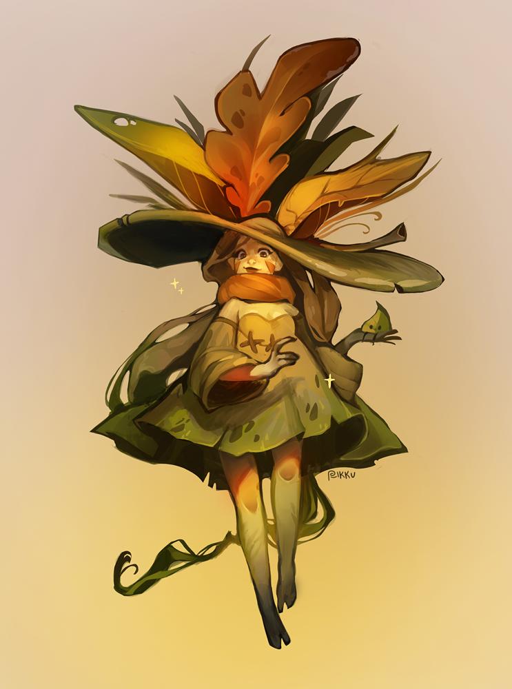 Coliandrium's Witch by Rikku-nyan