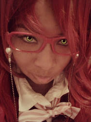 Cosplay: Grell Sutcliff~ Black Butler