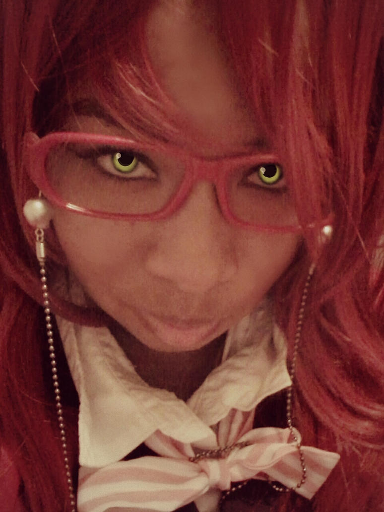 Cosplay: Grell Sutcliff~ Black Butler by AzJahlee