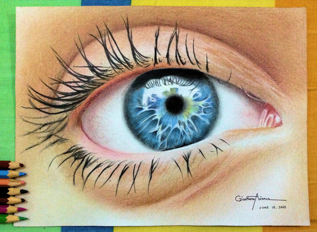 Eye Drawing by Gianmarco10 on DeviantArt
