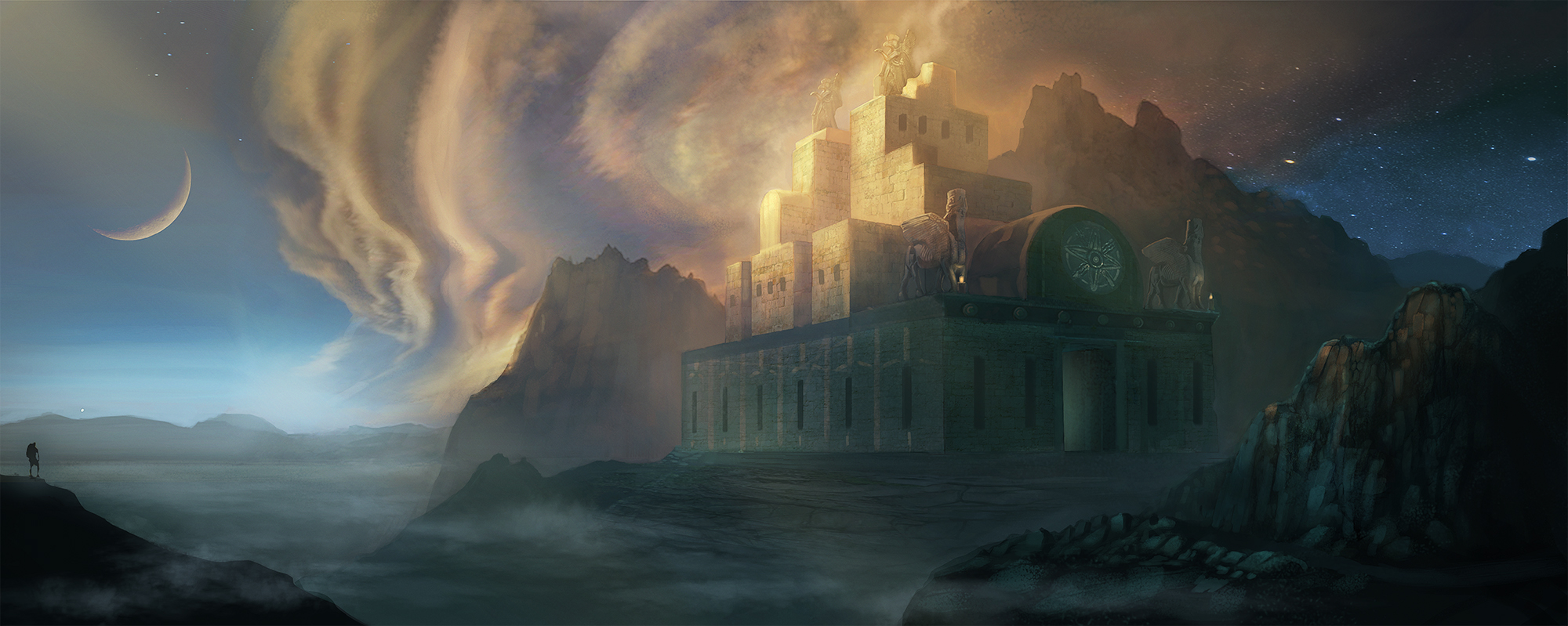 The Sun Temple by verbalhologram33