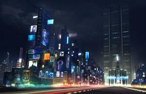 NYC 2100 by verbalhologram33