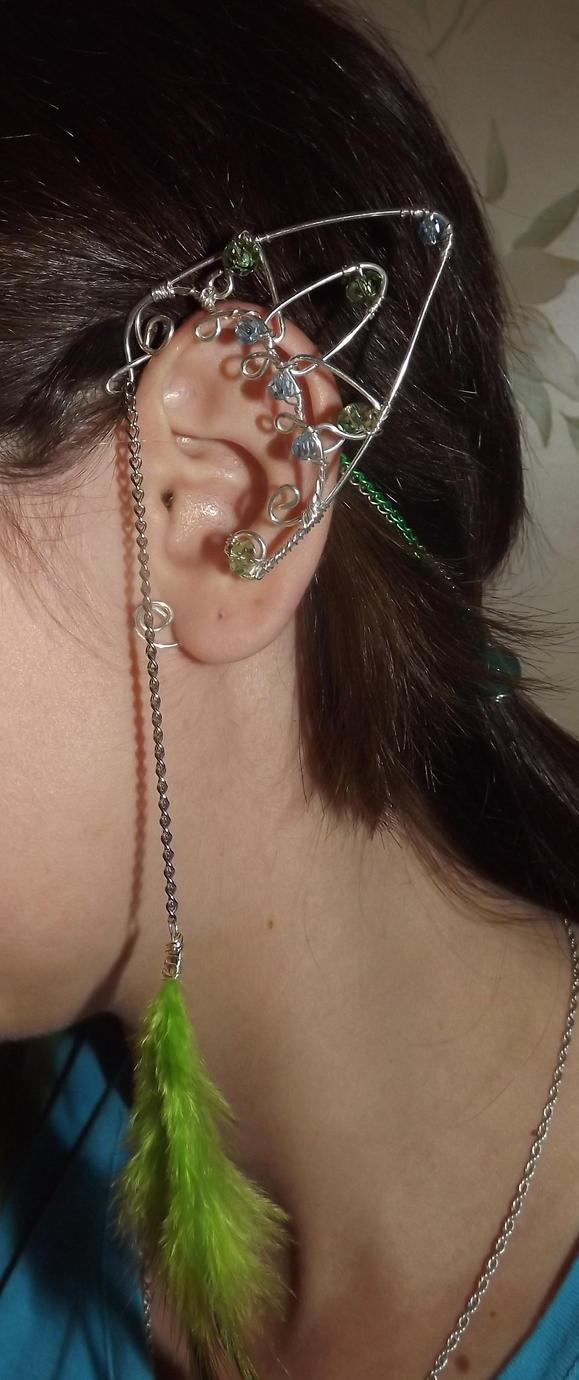 Elven ear cuff by Mafkin