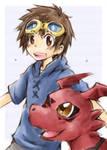 Takato+Guilmon