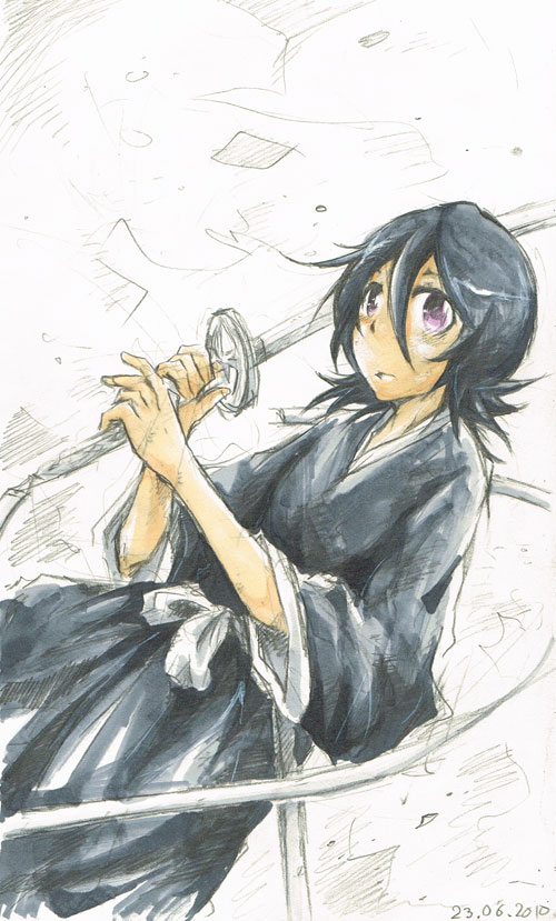 Scrap: Rukia by hangdok