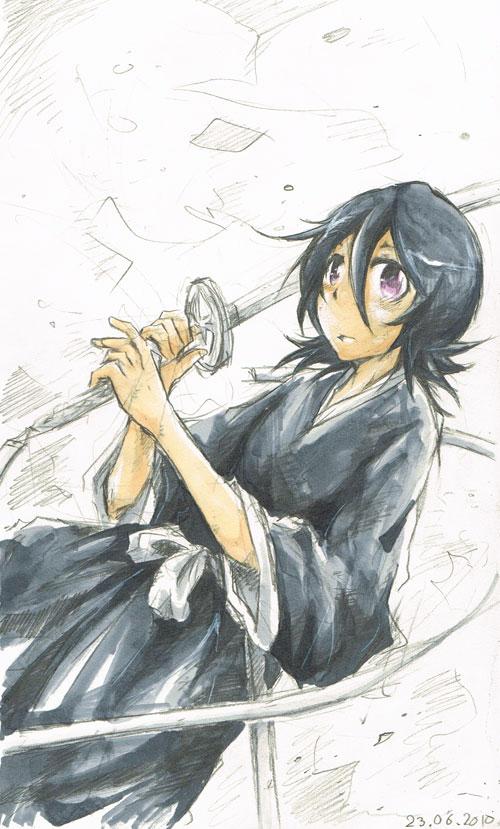 Scrap: Rukia by hangdok