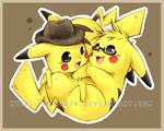 Commission12 : Pikachus