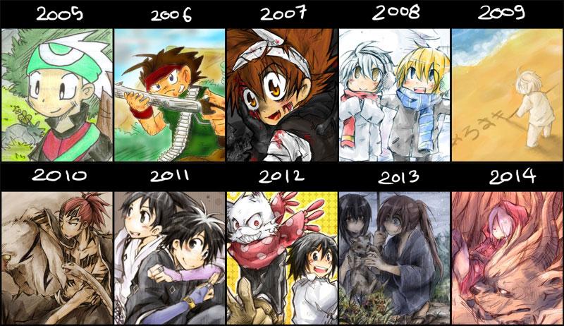 10 years improvement by hangdok