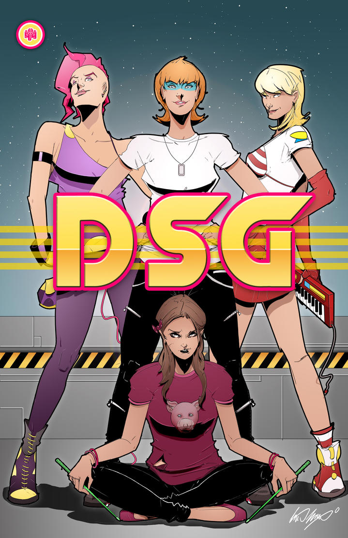 DSG Comic Book Cover by Kent Hurlburt by KentHurlburt