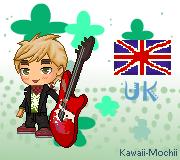 Punk!England(APH) - Fantage by Kawaii-Mochii
