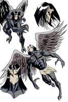 Comicbook Style Character Shee by JoeRuff