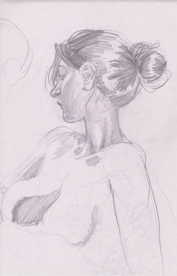 Pencil Life Drawing