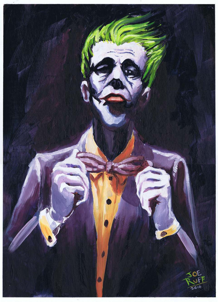 The Joker by JoeRuff